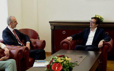 Претседателот Пендаровски ги прими амбасадорите на Република Словенија и на Народна Република Кина
