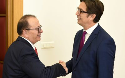 President Pendarovski receives a delegation from the Academy of Sciences and Arts of the Republic of North Macedonia – MANU