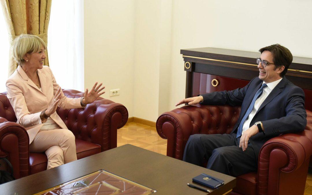 Претседателот Пендаровски прими делегација од германскиот медиумски сервис, Дојче Веле