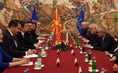 Претседателот Пендаровски прими делегација на Уставниот суд на Република Бугарија