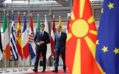 Претседателот Пендаровски на средба со претседателот на Европскиот совет, Доналд Туск
