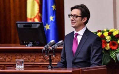 Обраќање на претседателот Пендаровски по повод стапувањето на функцијата Претседател на Република Северна Македонија