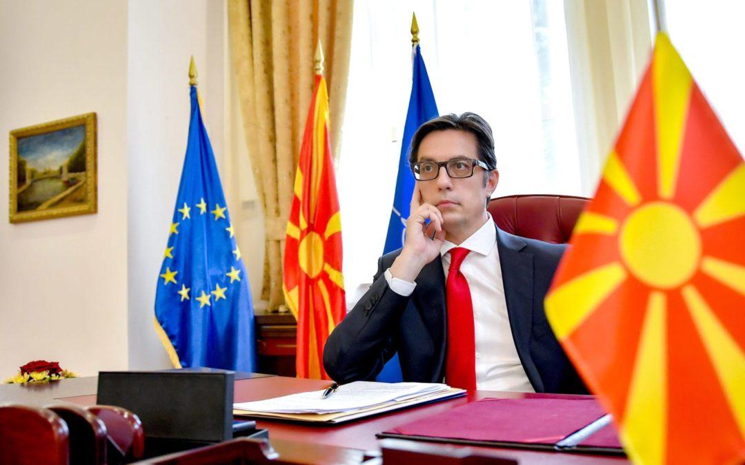 Intervistë me Presidentin Pendarovski për Almakos