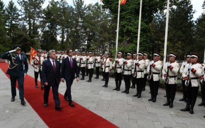 Билатерални средби по повод инаугурацијата на претседателот Пендаровски