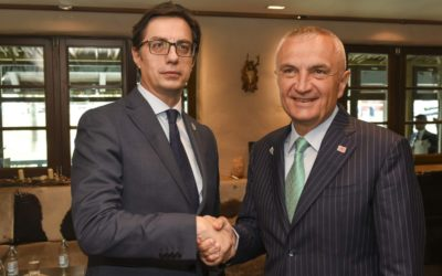 Meetings of President Pendarovski on the margins of the SEECP Summit in Sarajevo