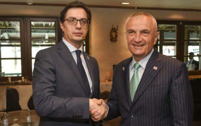 Средби на претседателот Пендаровски во рамки на учеството на самитот на ПСЈИЕ во Сараево