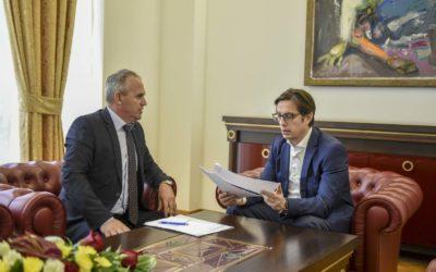 Претседателот Пендаровски го прими Зеќир Рамчиловиќ, пратеник во Собранието на Република Северна Македонија