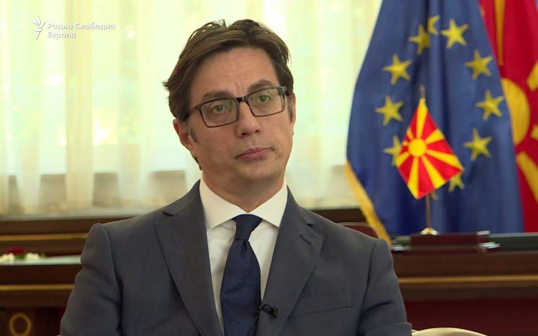 Интервју на претседателот Пендаровски за Радио Слободна Европа