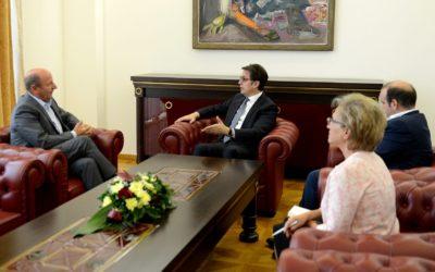 Средба на претседателот Пендаровски со Народниот правобранител Иџет Мемети