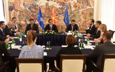 President Pendarovski receives members of the Macedonia – Turkey Chamber of Cmmerce, MATTO