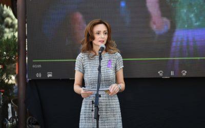 Сопругата на претседателот на државата, Елизабета Ѓоргиевска присуствуваше на одбележувањето на светскиот ден на Алцхајмерова болест