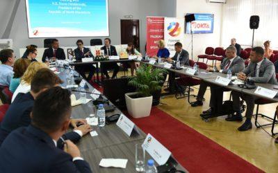 Претседателот Пендаровски на средба со претставници на Советот на странски инвеститори