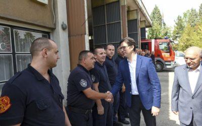 Претседателот Пендаровски во посета на општина Велес