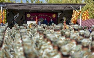 Претседателот Пендаровски присуствуваше на одбележувањето на денот на Здружената оперативна команда