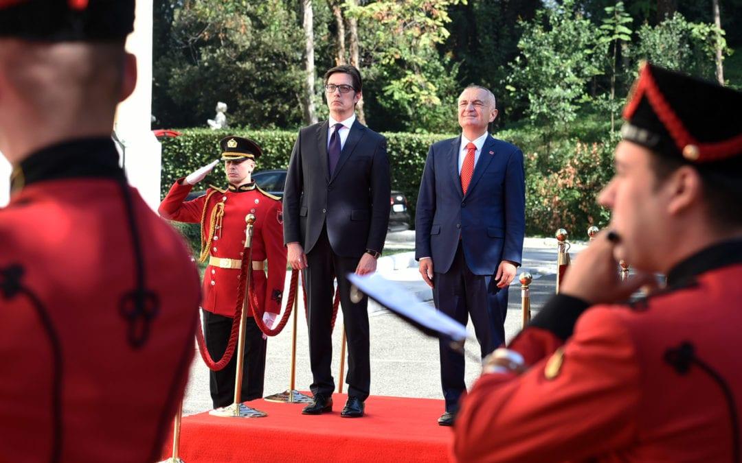 Претседателот Пендаровски во официјална посета на Република Албанија