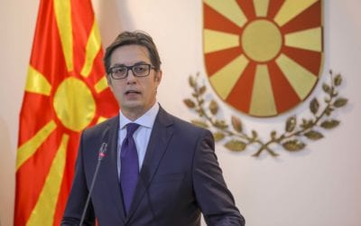 Statement by the President of the Republic of North Macedonia, Stevo Pendarovski, after the first part of the leadership meeting