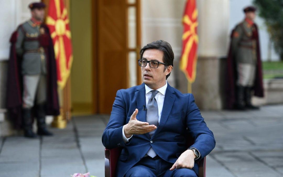 """Intervistë  e StevoPendarovskit , Presidenti i Republikës së Maqedonisë për """"AlJezeeraBalkans """""""