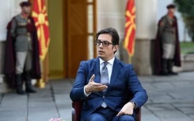 Интервју на Стево Пендаровски, претседател на Република Северна Македонија, за Ал Џезира Балканс