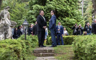 Пендаровски-Помпео: Продлабочување на стратешкото партнерство со САД