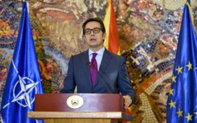 Обраќање до јавноста на претседателот на Република Северна Македонија, Стево Пендаровски