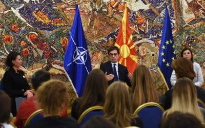 Претседателот Пендаровски: Треба да бидеме упорни во нашата заложба да имаме почиста и поздрава животна средина