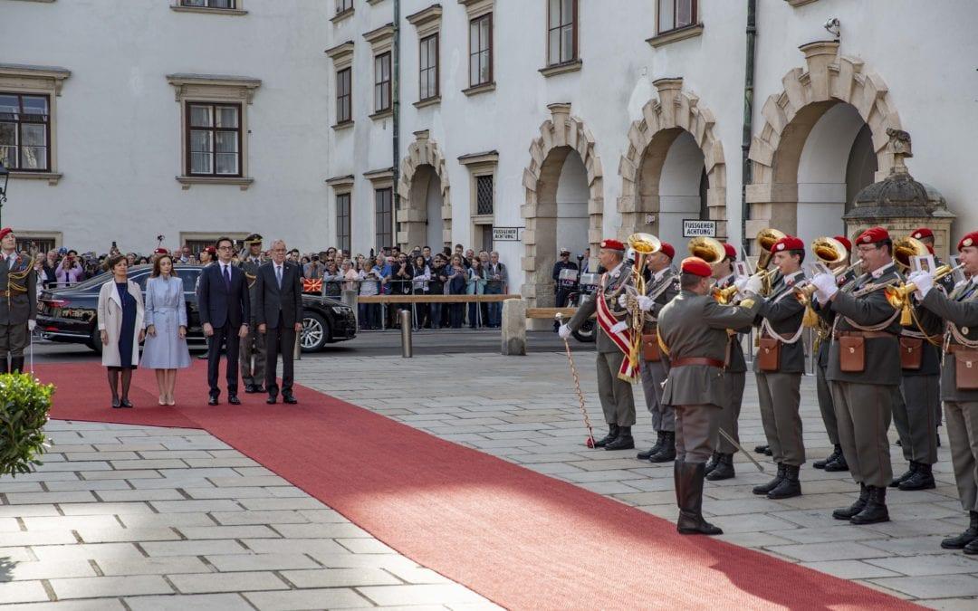 Pendarovski-Van der Bellen: Start of EU negotiations is deserved recognition for North Macedonia
