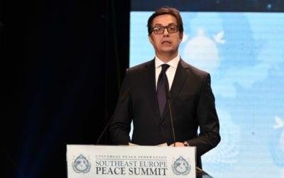 Претседателот Пендаровски се обрати на Мировниот самит за Југоисточна Европа