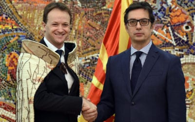 President Pendarovski receives credentials of newly appointed Ambassadors of New Zealand and the Socialist Republic of Vietnam to the Republic of North Macedonia
