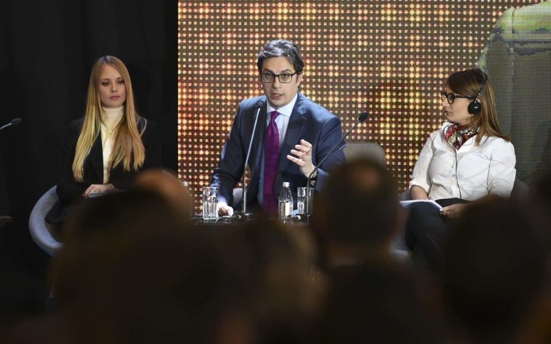 Претседателот Пендаровски од 4. Регионален форум: Како одговорни политичари на младите мора да им обезбедиме можности да успеат во својата матична земја