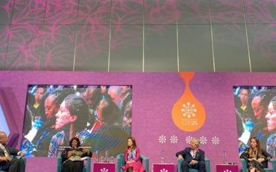 Сопругата на Претседателот, Елизабета Ѓоргиевска, се обрати на Најроби Самитот