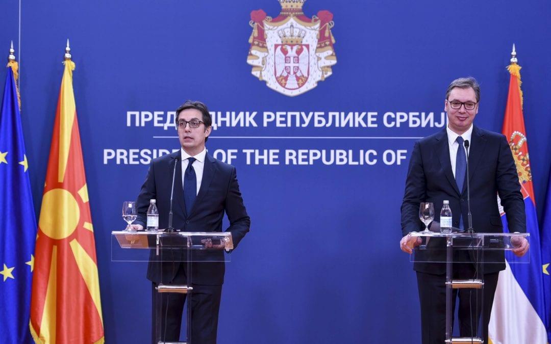 Deklaratë e presidentit Pendarovski në konferencën për shtyp me presidentin serb Vuçiq
