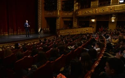 """Address by President Pendarovski at the opening of the International Inclusive Drama Festival """"Games without Masks"""""""