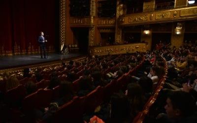 """Обраќање на претседателот Пендаровски на отворањето на меѓународниот инклузивен драмски фестивал """"Игри без маска"""""""