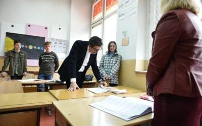 Претседателот Пендаровски во посета на општина Тетово и општина Теарце