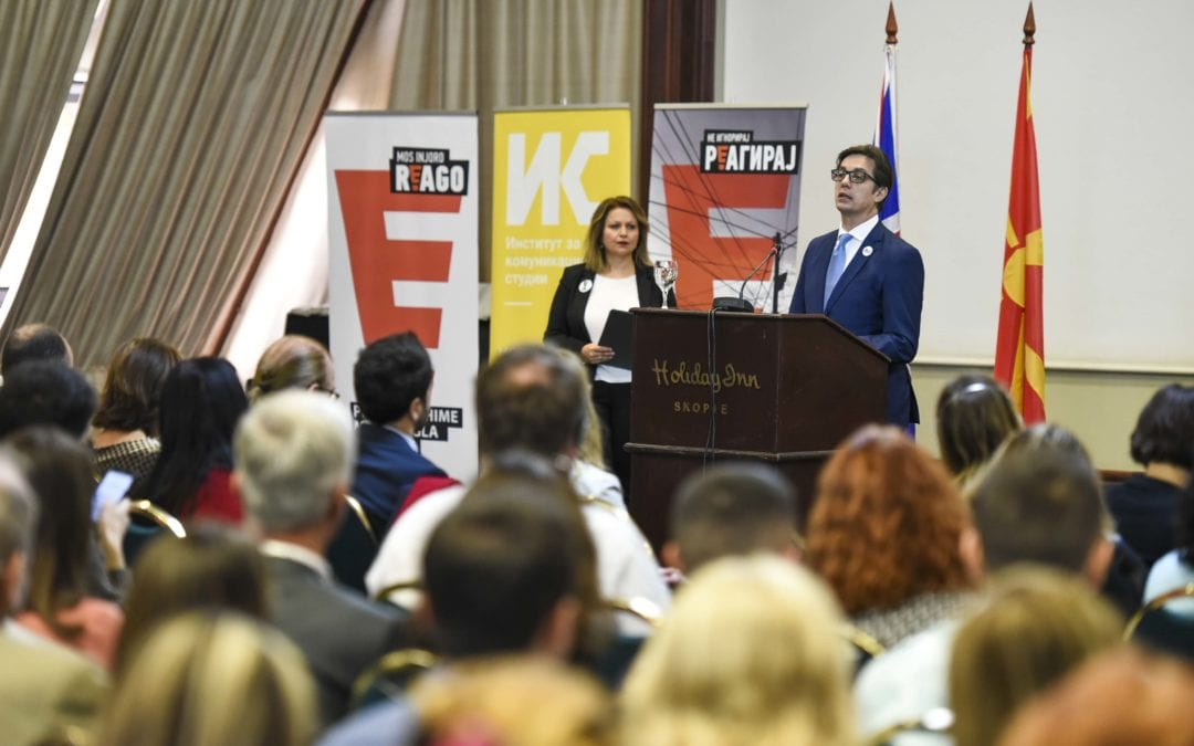 """Fjalimi i presidentit Pendarovski në konferencën """"Aksioni klimatik: Të parandalohet dhe të shërohet"""""""