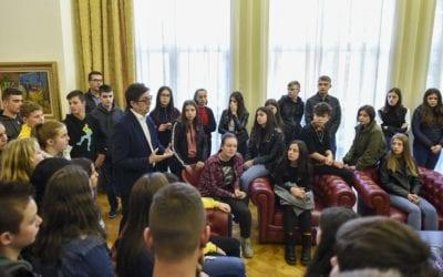 Отворен ден во Кабинетот на Претседателот на Република Северна Македонија