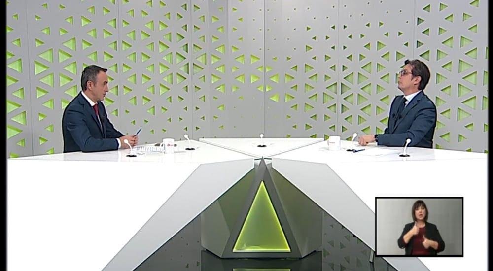 """Интервју на претседателот Пендаровски за емисијата """"Отворено"""" на Телевизија 24"""