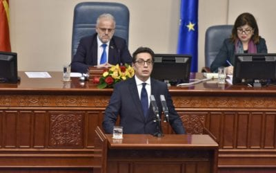 Address by President Pendarovski, Assembly of the Republic of North Macedonia