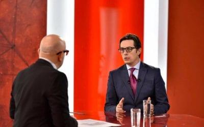 """Интервју на претседателот Пендаровски за """"Емисија 200"""" на Телевизија Алсат-М"""