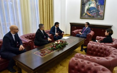 Средба на претседателот Пендаровски со претставници од Стоматолошката комора