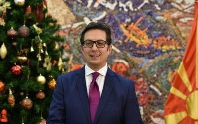 Честитка од претседателот Пендаровски по повод новогодишните празници
