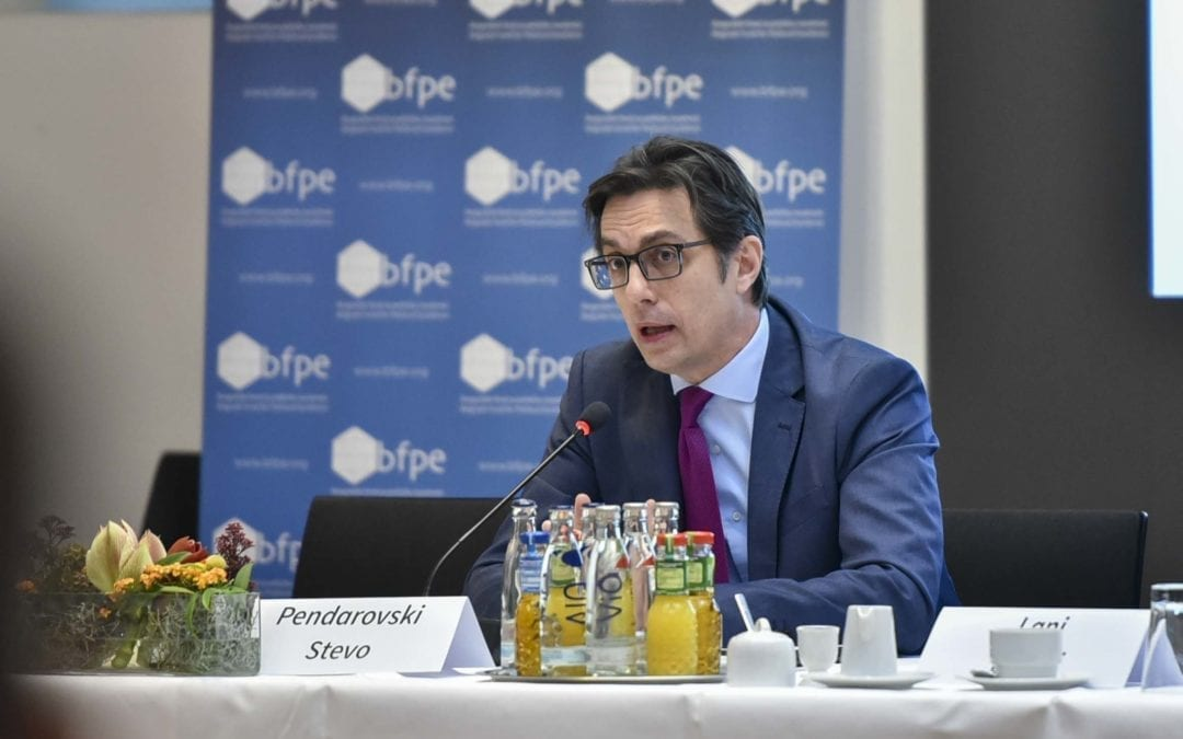 """Претседателот Пендаровски од конференцијата """"Балкански дијалози"""" во Берлин: И граѓаните во земјите од Западен Балкан заслужуваат да бидат дел од Европската унија"""