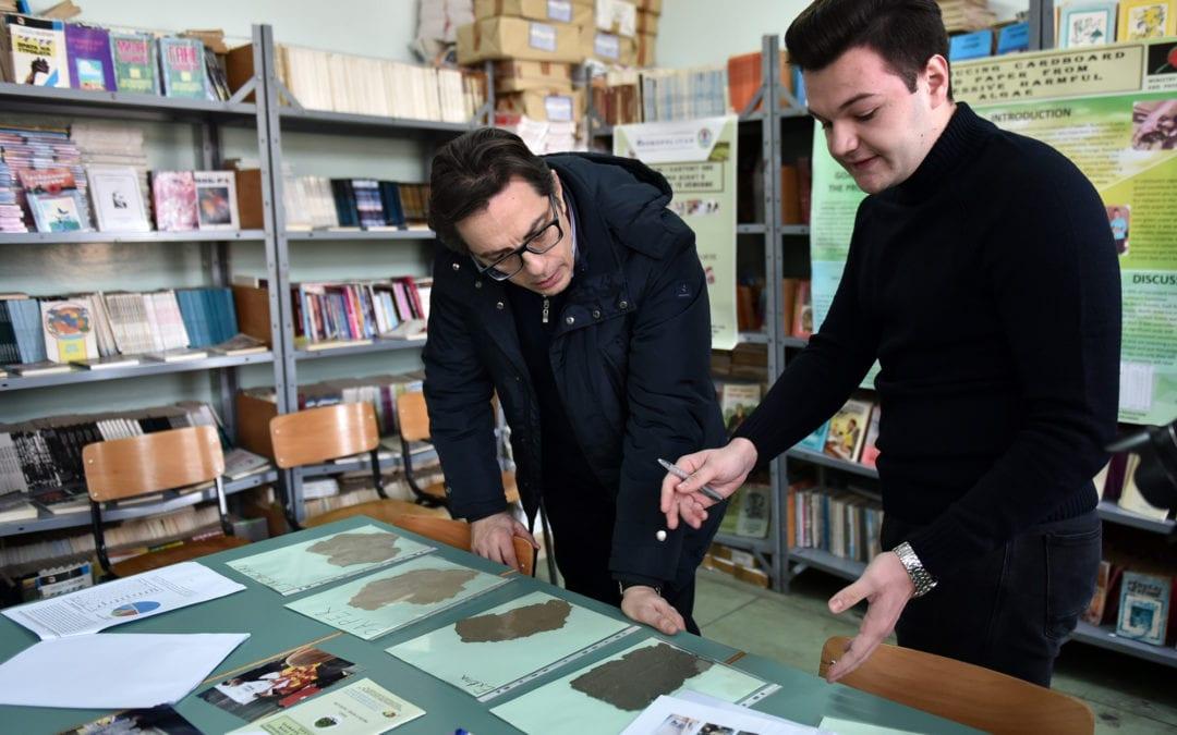 Претседателот Пендаровски во посета на општина Кичево
