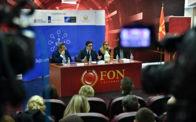 "Participation of President Pendarovski in the debate on ""Safe Youth, Safer Future"""