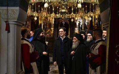Претседателот Пендаровски во посета на општина Дебар