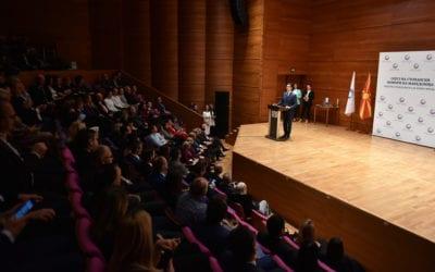 """Kryetari Pendarovski mbajti fjalim në dhënien e mirënjohjes """"Cilësia e Maqedonisë 2019"""""""