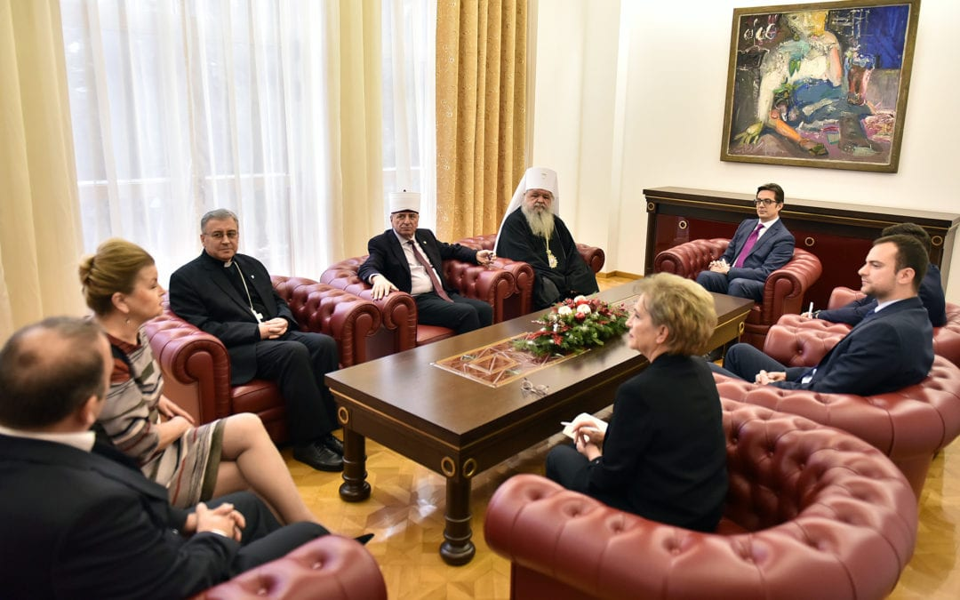 Средба со поглаварите и претставниците на верските заедници