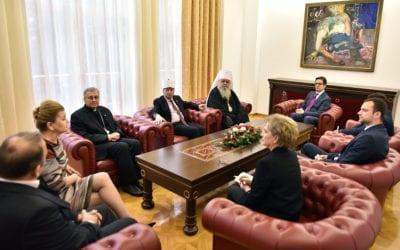 Takim me krerët dhe përfaqësuesit e komuniteteve fetare