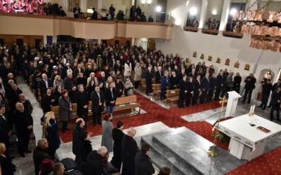Congratulation message to Christian believers celebrating Christmas according to the Gregorian calendar