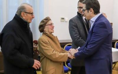 Посета на граѓани на Вила Водно во рамки на Отворен Кабинет